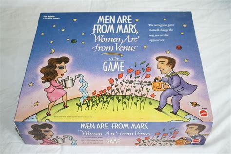 men   mars women   venus board adult game