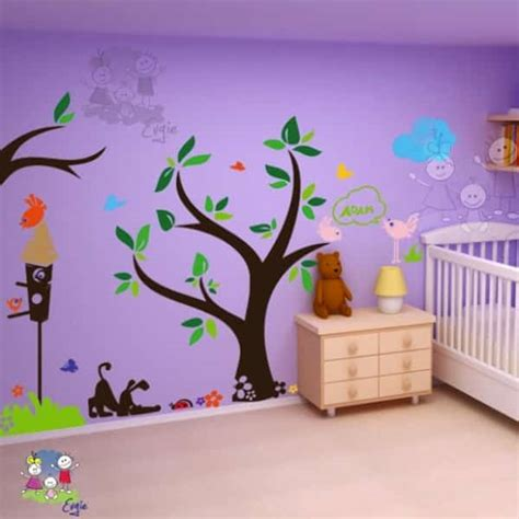 Child S Room Wall Nz by Using Children S Wall Decals To Make Your Rooms Special