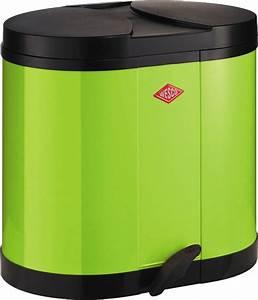 Mülleimer Mülltrennung 3 Fach : wesco kosammler m lleimer abfallsammler 2x15l liter m lltrennung versch farben ebay ~ Markanthonyermac.com Haus und Dekorationen