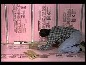 Isoler Sous Sol : comment isoler un plancher de sous sol d coration et de r novation youtube ~ Melissatoandfro.com Idées de Décoration