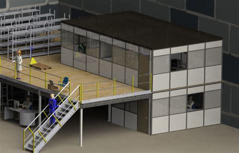 bureau d atelier bureau d 39 atelier sur mezzanine cabine sur plateforme
