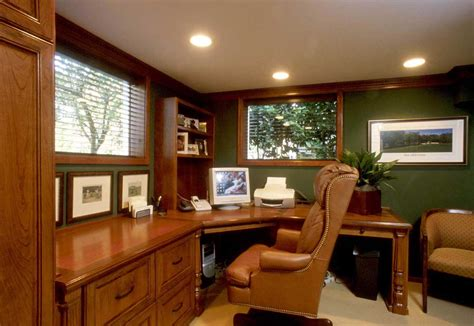 Home Office Ideas : Custom Home Office Furniture Design