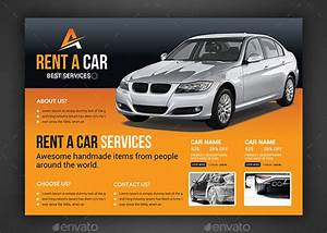 Rent A Car Flyer Template By Afjamaal