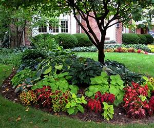 Beautiful Shade Plantings~ I like the combination of the