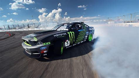 Ford Mustang Monster Car Drift, Hd Cars, 4k Wallpapers