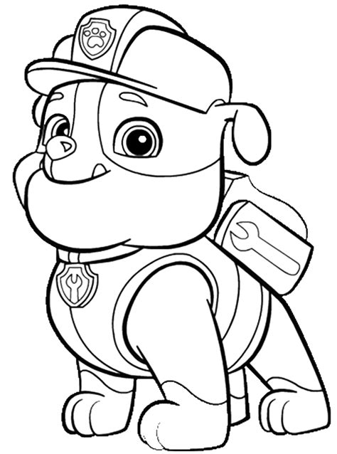 printable paw patrol coloring pages paw patrol coloring page to print