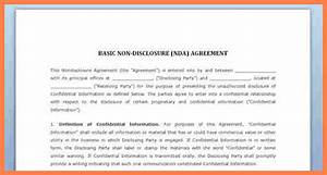 7 simple confidentiality agreement template purchase With basic nda template