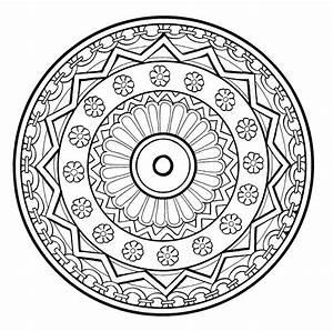Mandalas Et Coloriages Abstraits Imprimables Pour Soulager