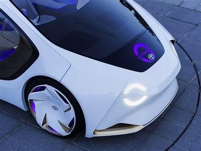 Toyota Driving Self Cars Concept Data Intel
