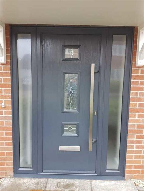 mid  square composite door   side panels