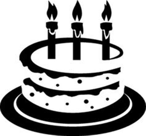 birthday candle clipart black and white royalty free rf clipart illustration of a black and