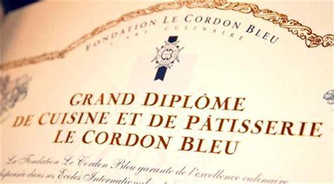 diplome de cuisine le cordon bleu a century cooking in