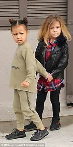 North West enjoys a play date with cousin Penelope Disick ...