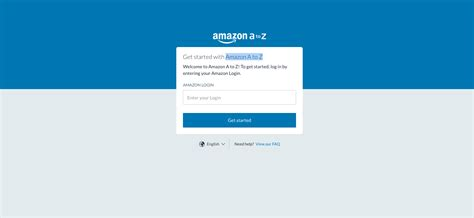 amazon employee login log hub into portal