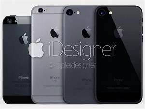 Así sería un iPhone 7 totalmente negro [concepto de diseño] en iPhoneros