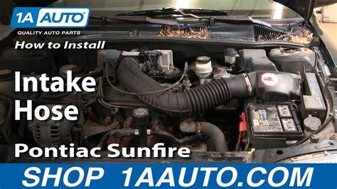 How Install Replace Intake Hose Chevy Cavalier Pontiac