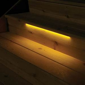solar deck lights stairs roselawnlutheran With outdoor led strip lights for stairs