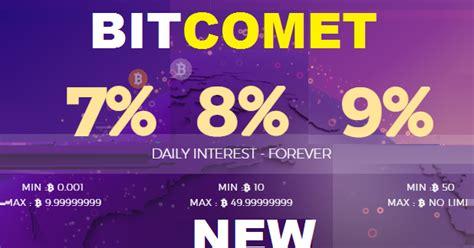 bitcoin forum bitcomet investment review