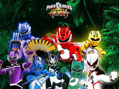 Power Rangers Jungle Fury Wallpaper Number 1 1024 X 768