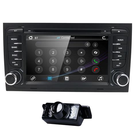 7 quot touchscreen audi a4 2002 03 2008 car stereo gps bluetooth dvd player radio ebay