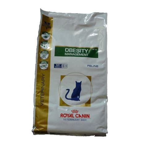 royal canin cat food veterinary diet obesity management  kg