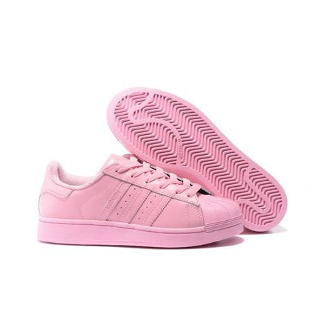 all light pink adidas adidas superstar pharrell williams x supercolor pack shoes