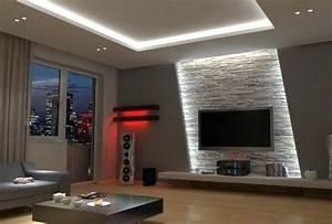 Wohnzimmer Wand Design : stunning wohnzimmer design wand stein photos house design ideas ~ Sanjose-hotels-ca.com Haus und Dekorationen