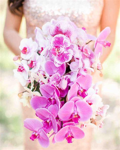 impressive orchid wedding bouquets martha stewart