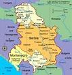 Serbia Map - ToursMaps.com