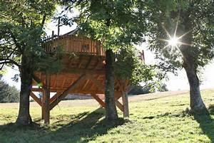 Constructeur Cabane Dans Les Arbres : cabane des fr nes nidperch constructeur de cabane ~ Dallasstarsshop.com Idées de Décoration