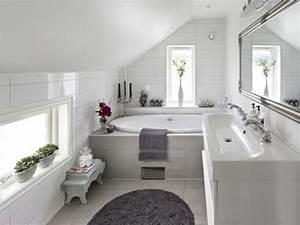 Badezimmer Weiß Grau : moderne badezimmergestaltung 30 ideen f r kleine b der ~ Markanthonyermac.com Haus und Dekorationen