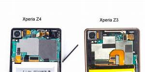 Xperia Z3 Plus  Z4 In Teardown Pics