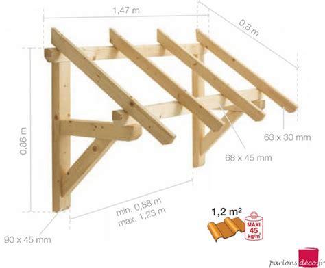 fabrication d une marquise en bois marquise en bois pour porte d entr 233 e 1 pan m parlonsdeco fr
