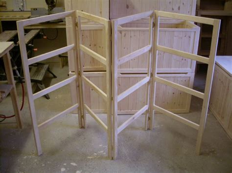 fold wooden handmade pine clothes airer clother horse