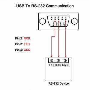 Usb To Serial Rs232 Db9 Pin Male Cable Adapter Converter