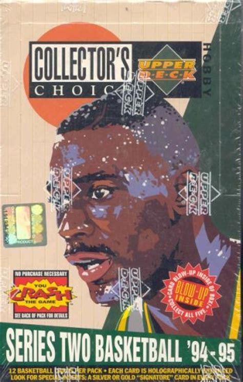 deck collectors choice 1994 basketball 1994 95 deck collector s choice series 2 basketball
