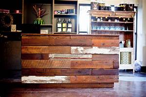 City Salon and Spa Makeover - Athens GA Reclaimed Wood