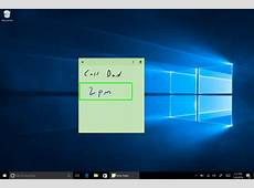 How to Create Cortana Reminders with Windows 10 Sticky Notes