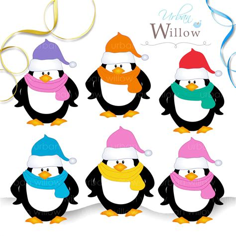cute penguin clipart   clip art