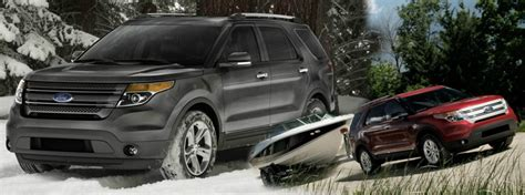 ford explorer towing capacity