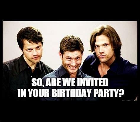 Supernatural Birthday Meme - supernatural birthday memes wishesgreeting