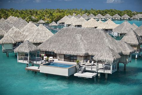 Somewhere Over The Water 5 Overwater Bungalows In The