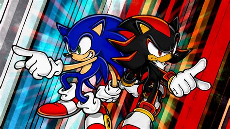 Sonic And Shadow[1] By Light-rock On Deviantart