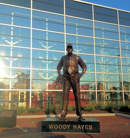 ohio state coach woody hayes history famous quotes