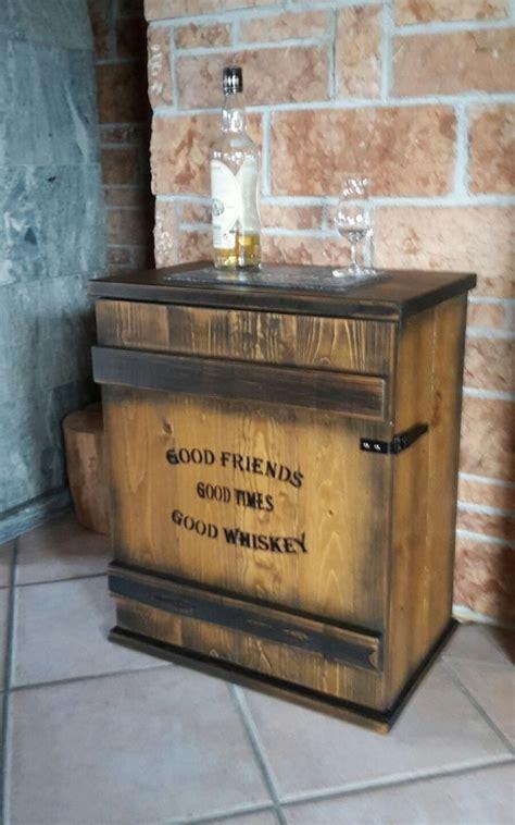 Whisky Zimmer Einrichten by Mini Bar Whiskey Frachtkiste Shabby Vintage Schrank Whisky