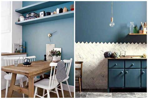 best cuisine blanche mur bleu canard images antoniogarcia info antoniogarcia info