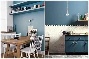 osez une deco couleur bleu canard dans votre interieur With couleur bleu canard deco 7 vert deco de la peinture verte pour decorer son