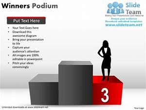 How To Make Achievement Winners Podium Power Point Slides