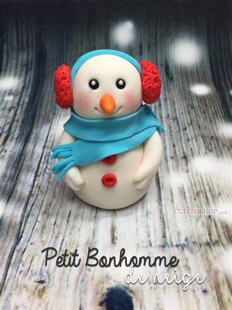 modelage pate a sucre modelage bonhomme de neige en p 226 te 224 sucre