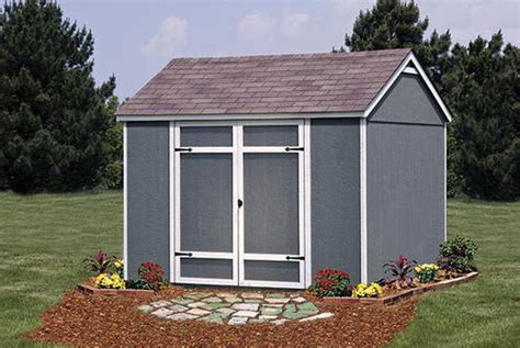 Menards Wood Storage Shed Kits by Ellington 10 W X 8 D Yard Building At Menards 174